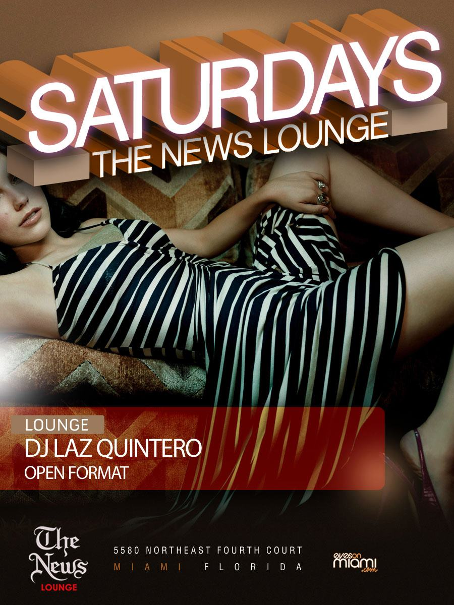 Feb 4th, 2012 – Saturdays at The News Lounge