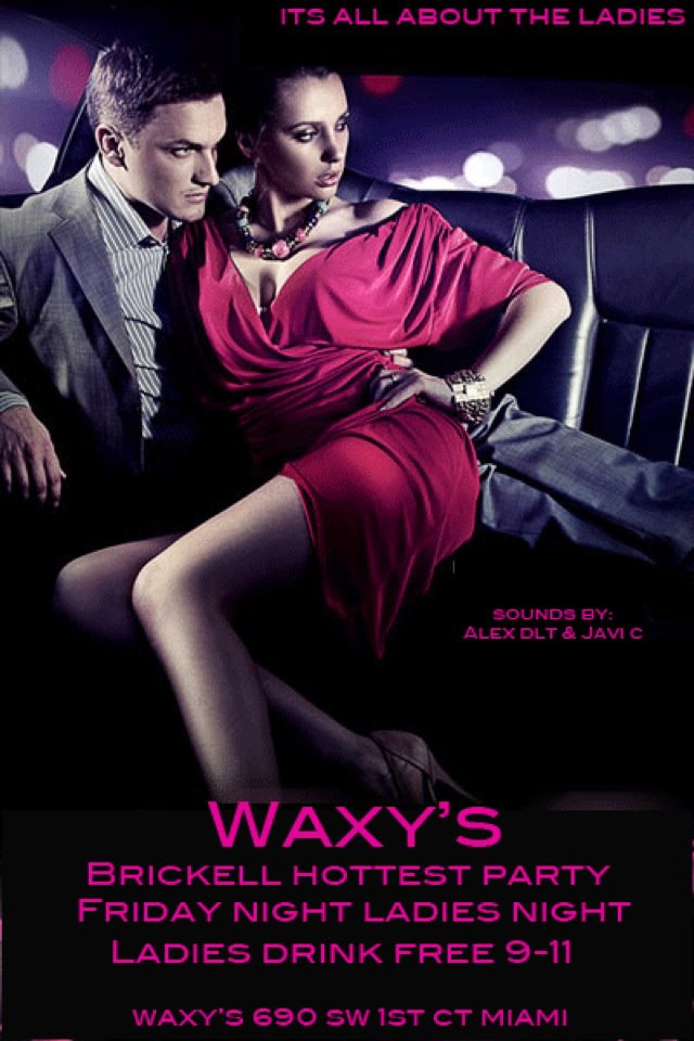 Feb 3rd, 2012 – Ladies Night party at Waxy's on the River