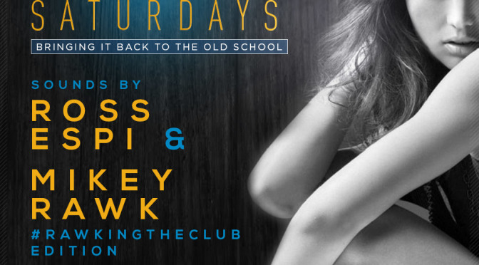 November 22nd, 2014 – Re-Vibe Saturday's at The News Lounge – Dj's Ross Espi & Mikey Rawk #RawkingTheClub Edition
