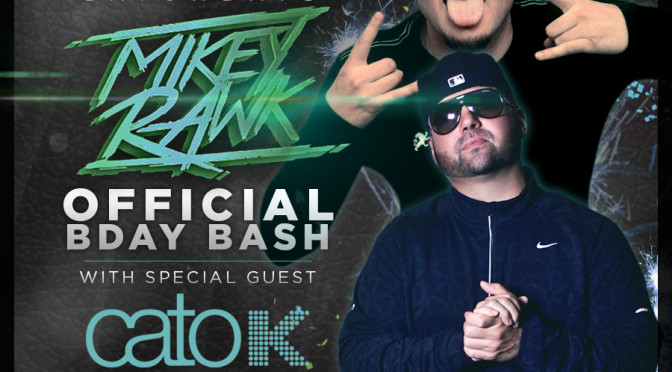 """September 12th, 2015 – Re-Vibe Saturday's at The News Lounge w/guest Dj Cato-K """"Mikey Rawk Bday Celebration!"""""""