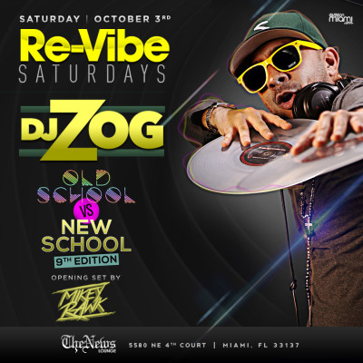 DJ Zog at The News Lounge
