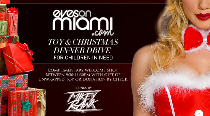 Decemeber 19th, 2015 – Re-Vibe Saturday's at The News Lounge – Toy & X-Mas Dinner Drive for children in need.