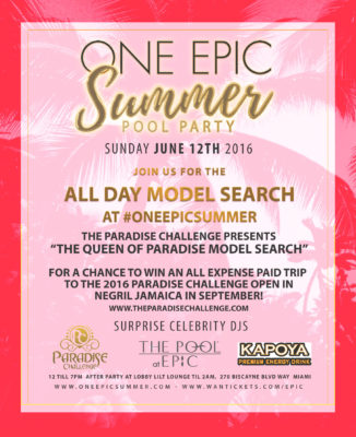 One Epic Summer