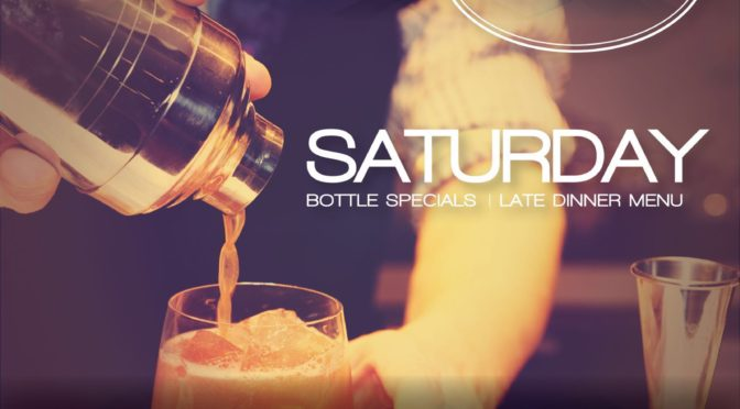 July 16th, 2016 SATURDAYS AT NOVECENTO LOUNGE IN MIDTOWN!