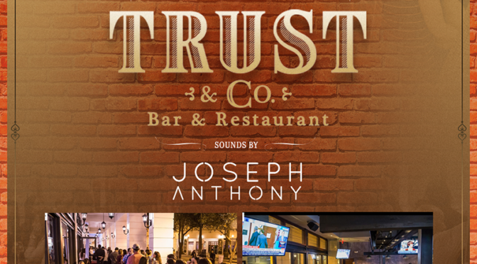 August 26th, 2016 Fridays at Trust & Co.